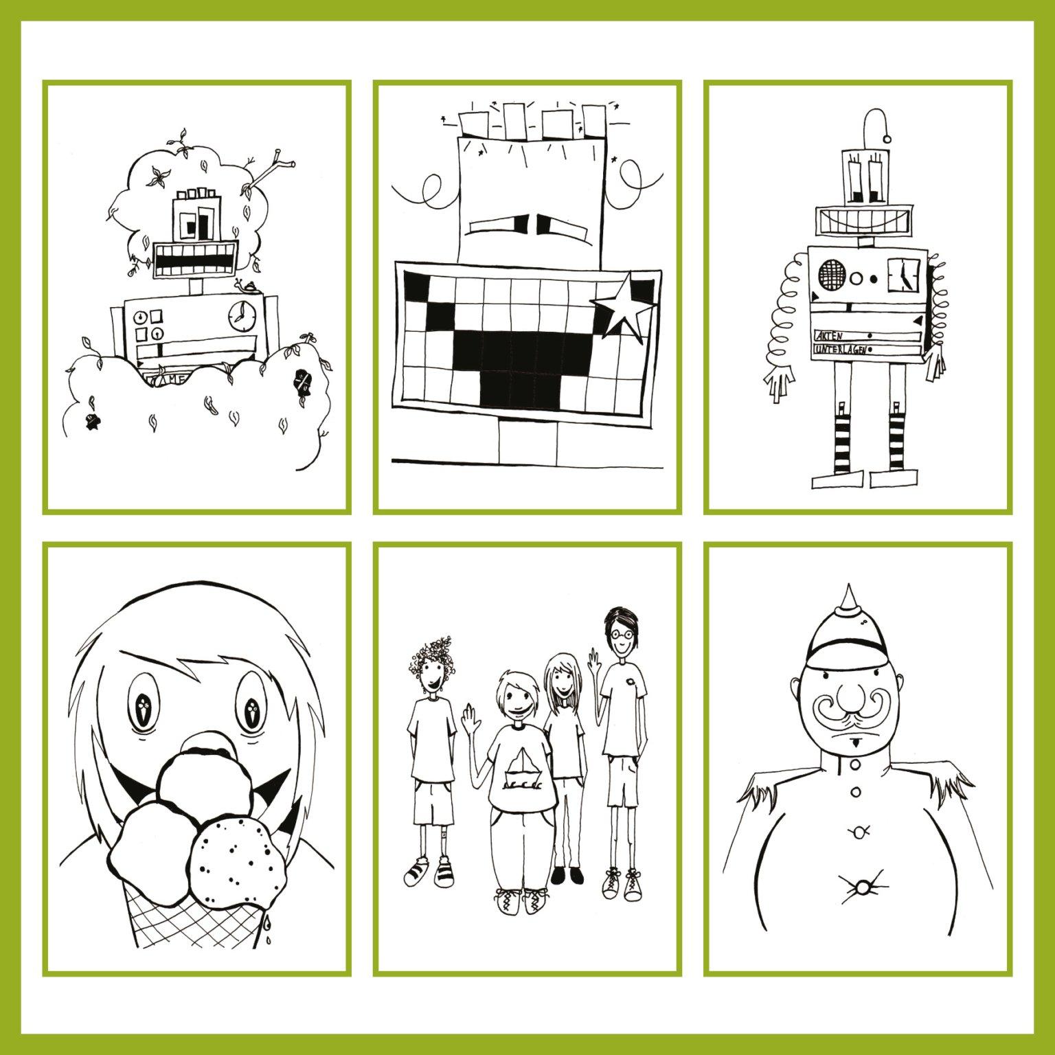 Auftragsarbeit - Der Roboter Archimedes