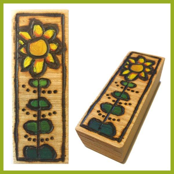 Glücksbaustein - Sonnenblume