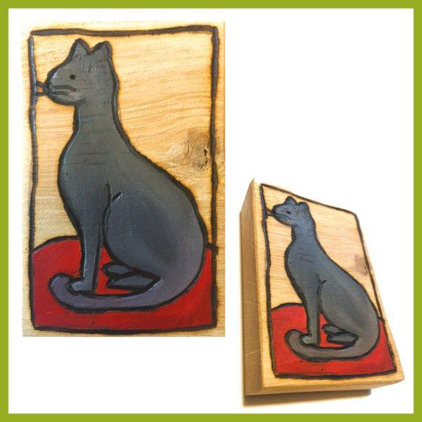 Glücksbaustein - Katze