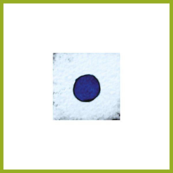 Radierung - Konfetti - blau