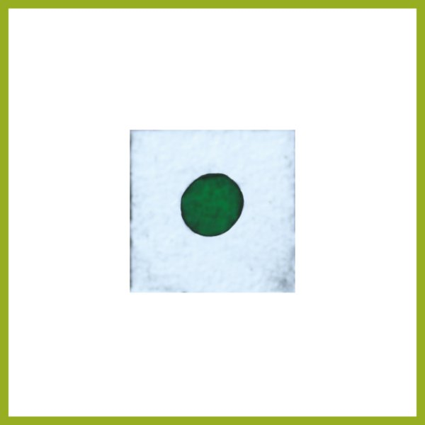 Radierung - Konfetti - grün