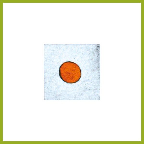 Radierung - Konfetti - orange