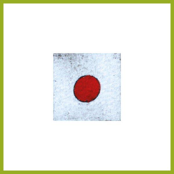 Radierung - Konfetti - rot