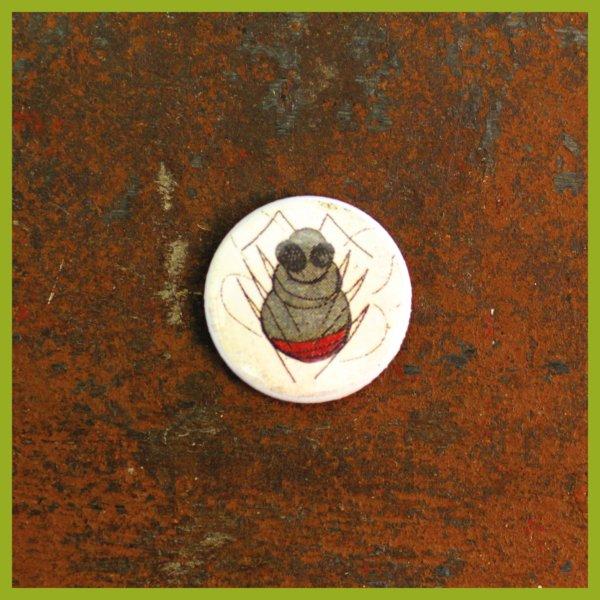 Anstecker / Anstecker / Magnet - Radierung - Steinhummel
