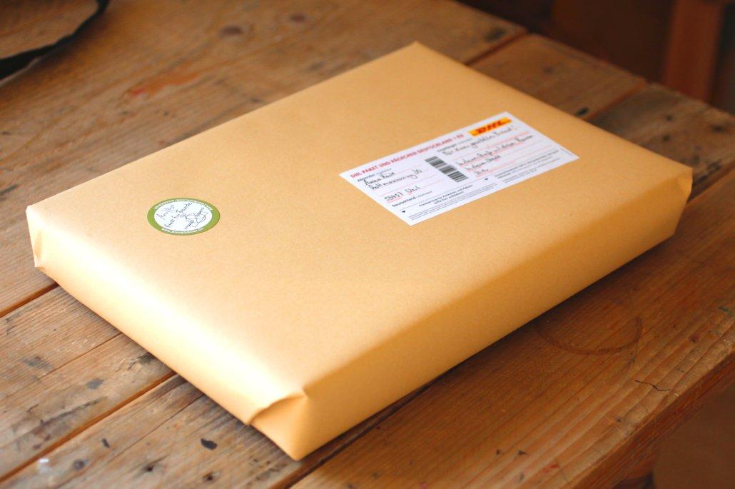 Ein Paket, sicher für euch verpackt!