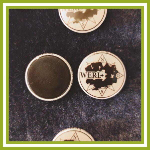 Unser Kompass zeigt nach Werl! Magnet