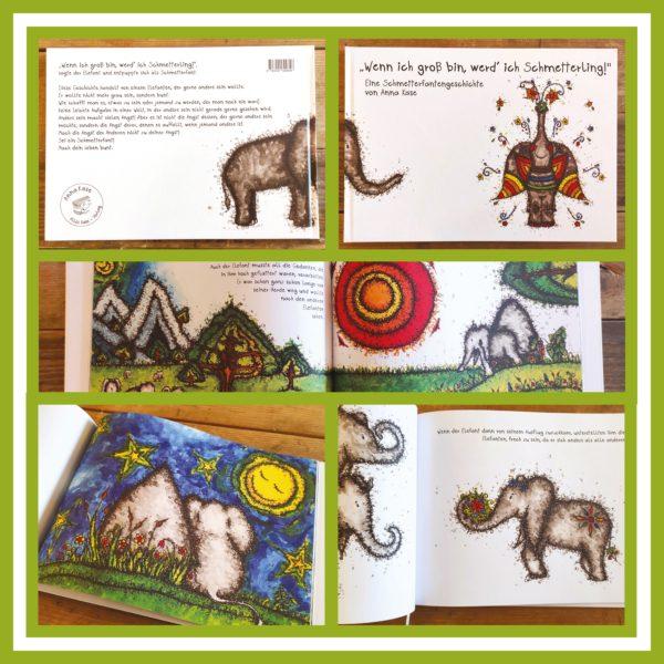 """Produktbild - Schmetterfantenbuch """"Wenn ich groß bin werd' ich Schmetterling!"""""""